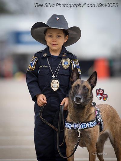 一位为生存而奋斗的六岁小女警