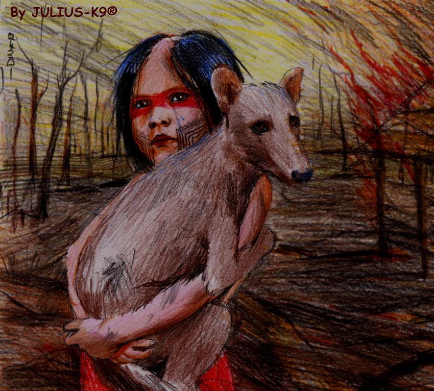 亚马逊地区神秘犬种可被火灾消灭